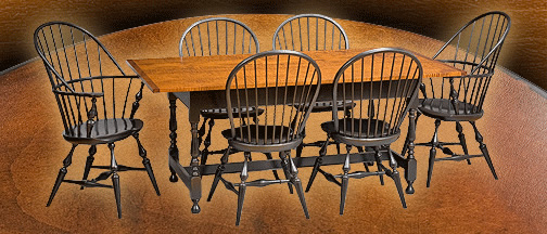 reproduction Windsor chairs